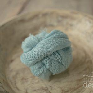Sky Blue Textured Wrap