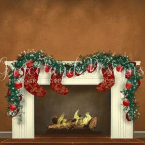 Christmas Fire Stockings