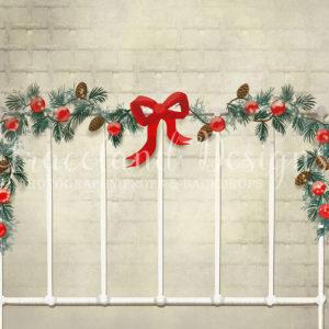 Sleeps Till Christmas – White Brick